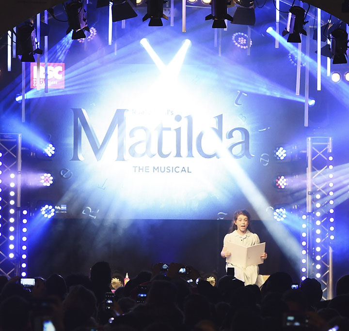 Matilda lights up Oxford Street