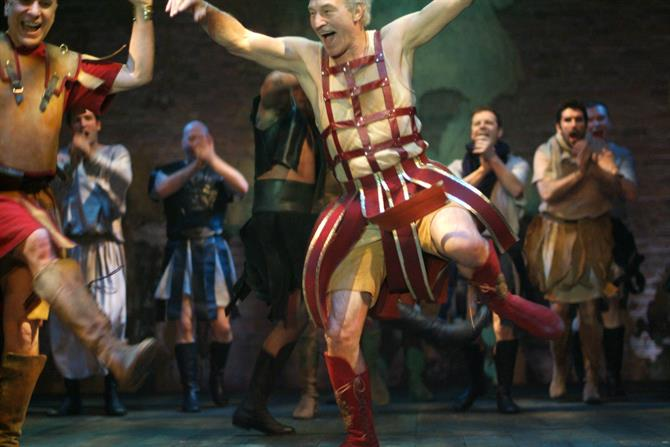 Patrick Stewart in Antony and Cleopatra
