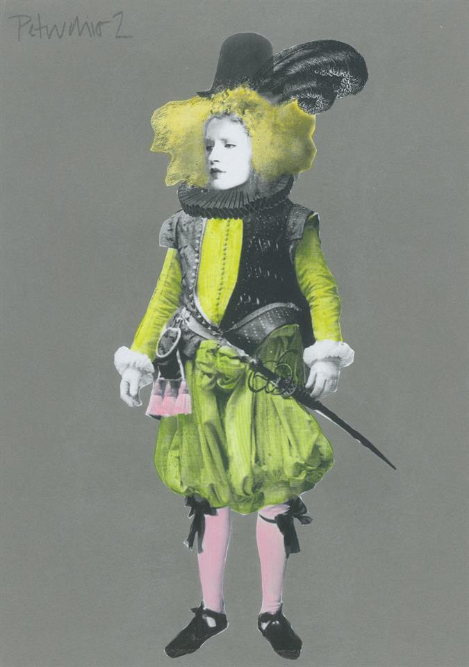 Petruchio Costume Design sketch for Shrew