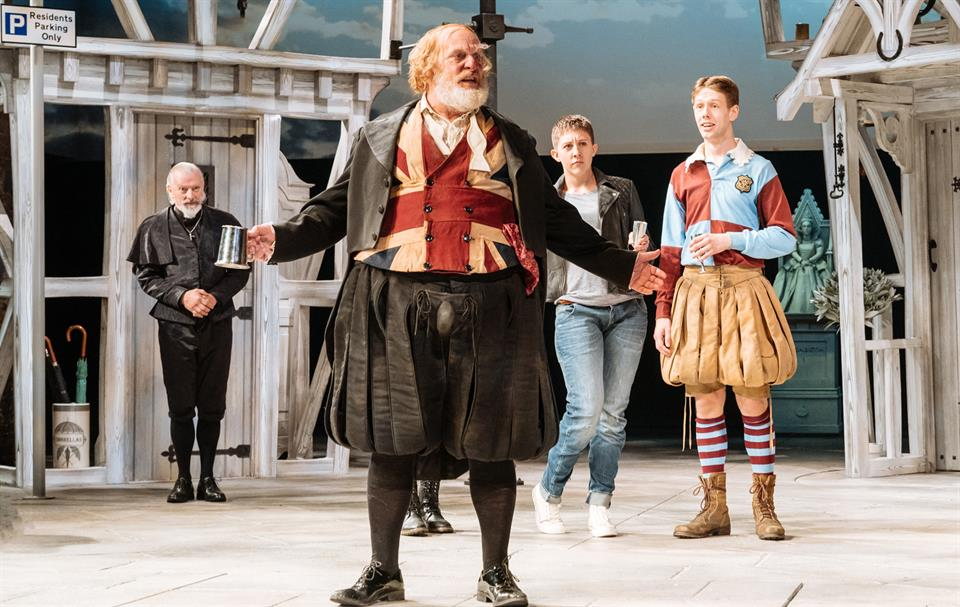 David Troughton on Merry Wives