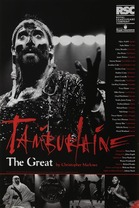 Poster of Tamburlaine the Great by Christopher Marlowe 1993