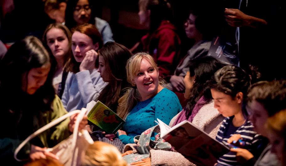 Audiences in the Royal Shakespeare Theatre