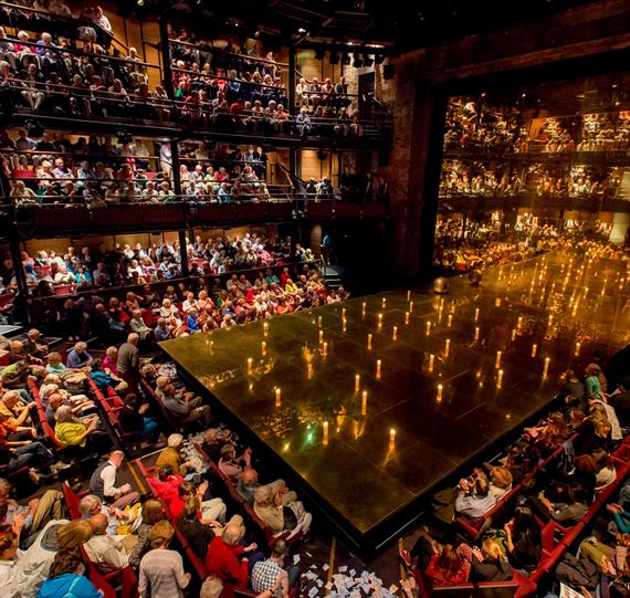 The Royal Shakespeare Theatre stage