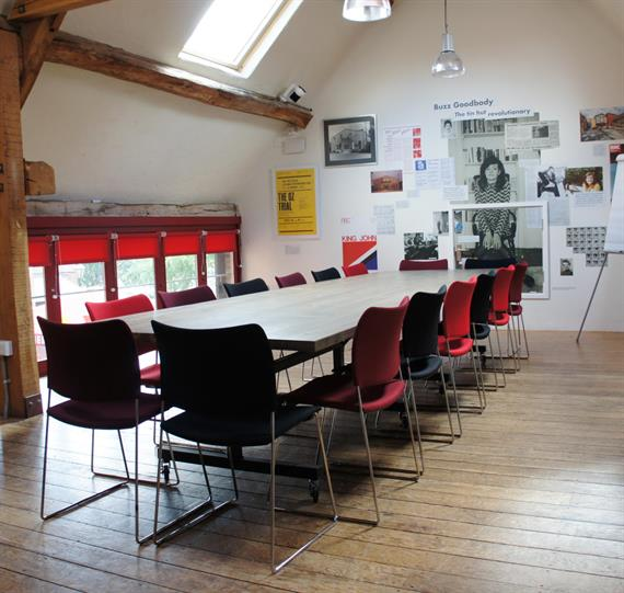The Buzz Goodbody meeting room