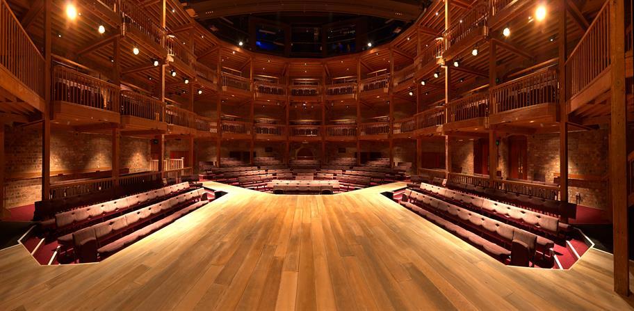 Photo of the Swan Theatre auditorium
