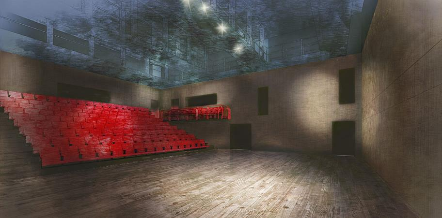 Artist's impression of the new The Other Place auditorium