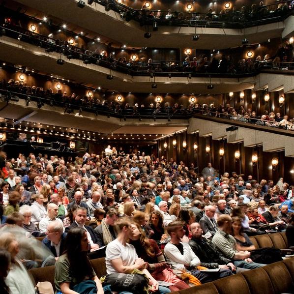 Photo of interior of Barbican theatre