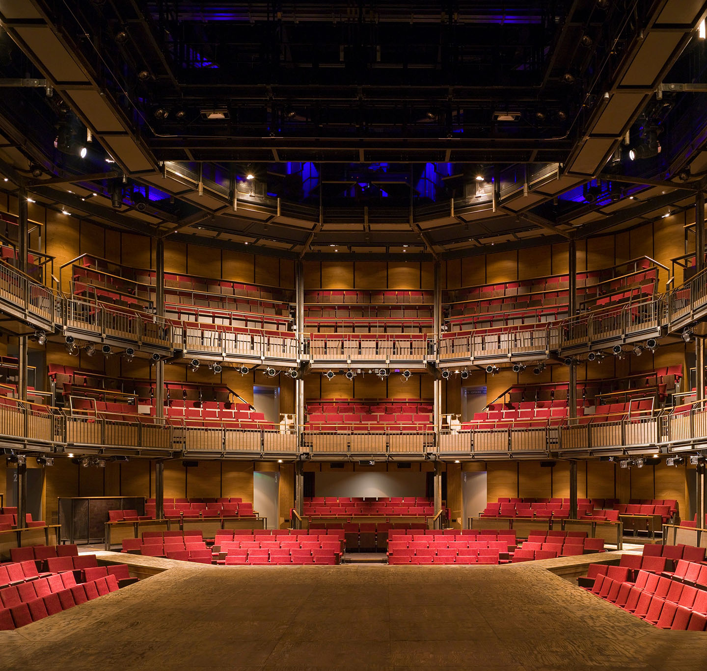 The Royal Shakespeare Theatre auditorium
