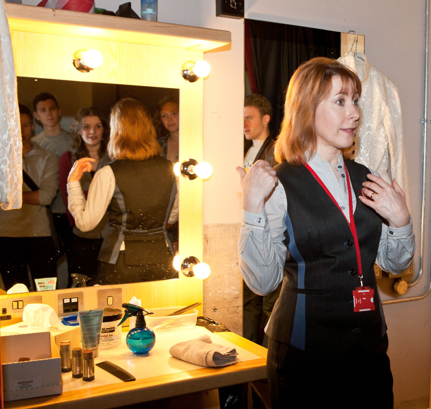Dressing room - behind the scenes tour