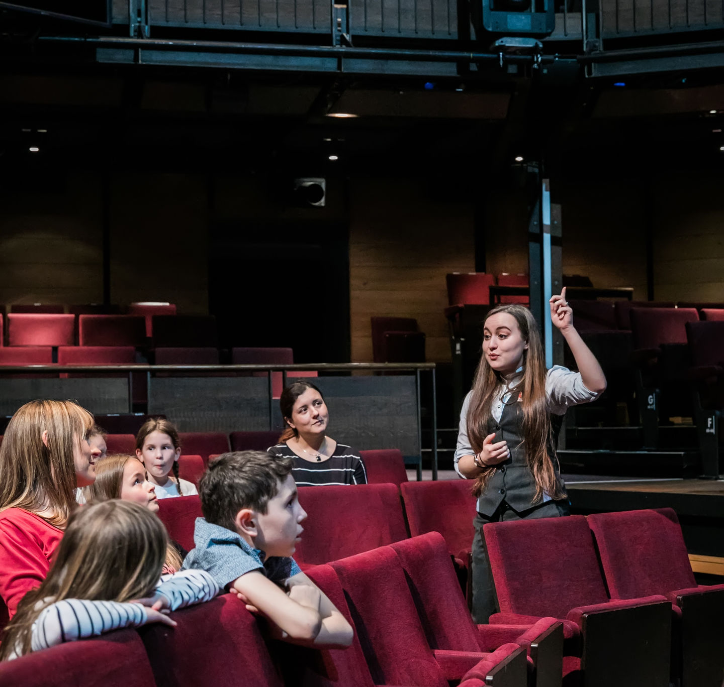 Front of house tour in the Royal Shakespeare Theatre