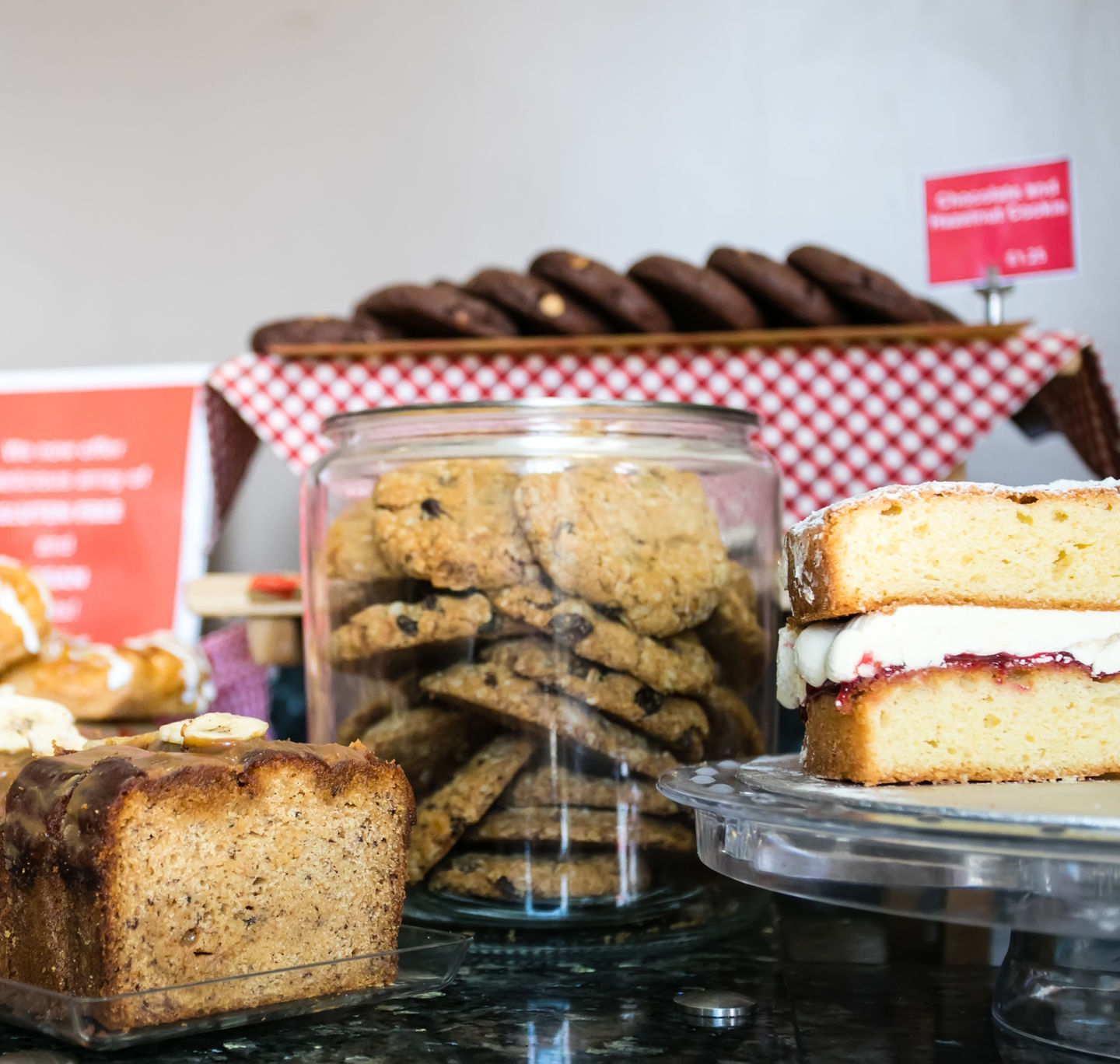 Gluten free cakes and bakes