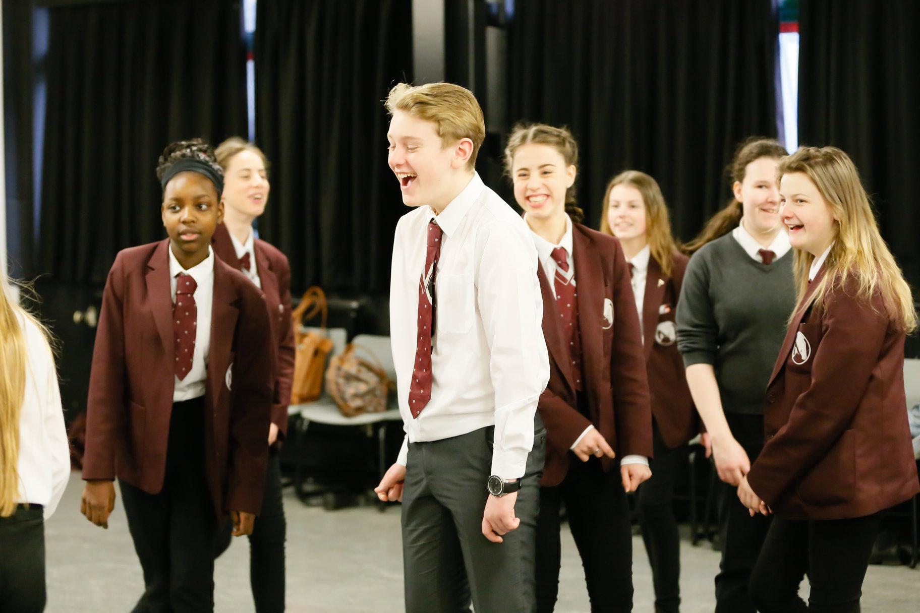 Regional Schools Celebration_ Rehearsal Workshop Macmillan Academy_2015_Photo by Rob Freeman _c_ RSC_156515