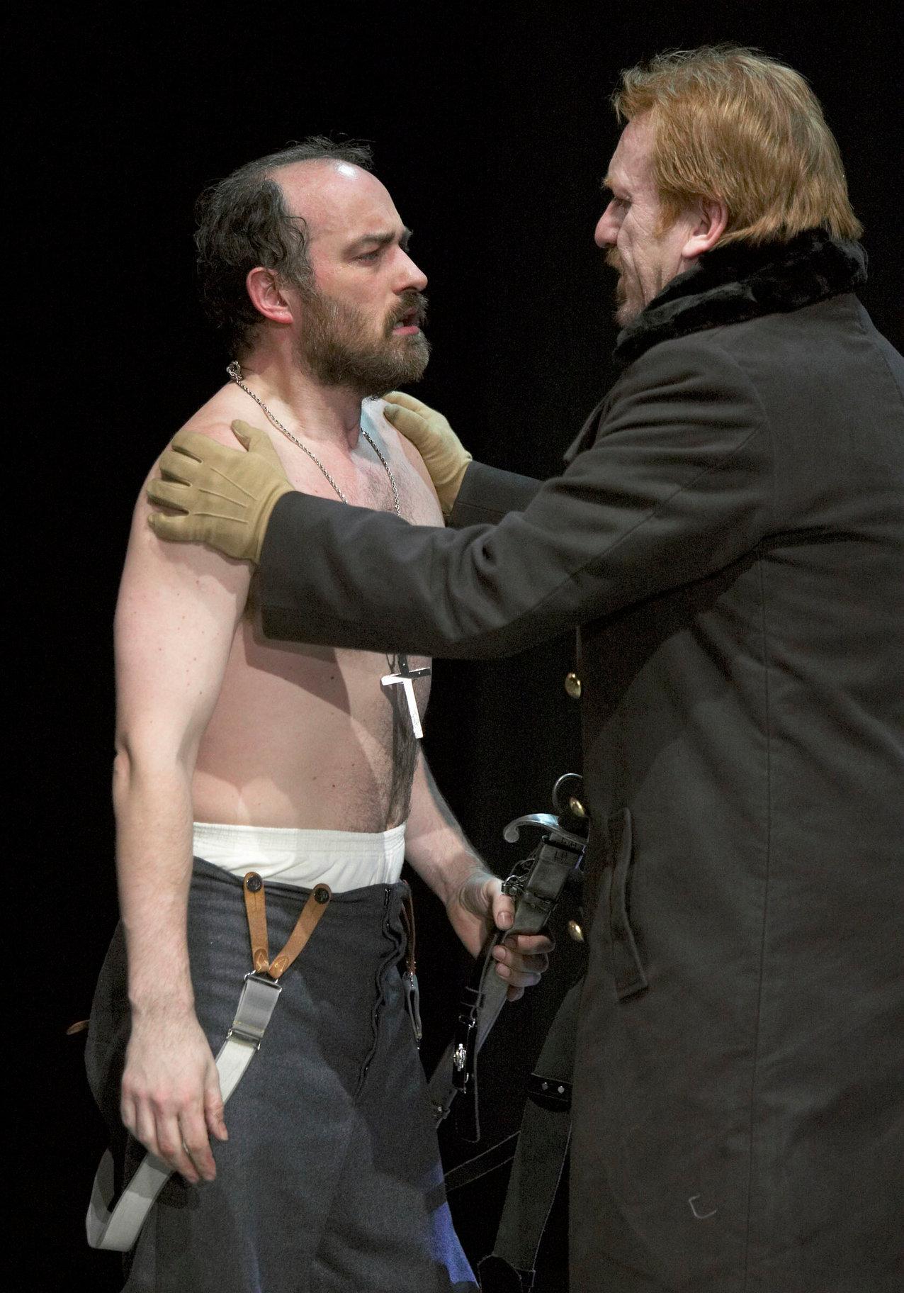 Banquo and Macduff.