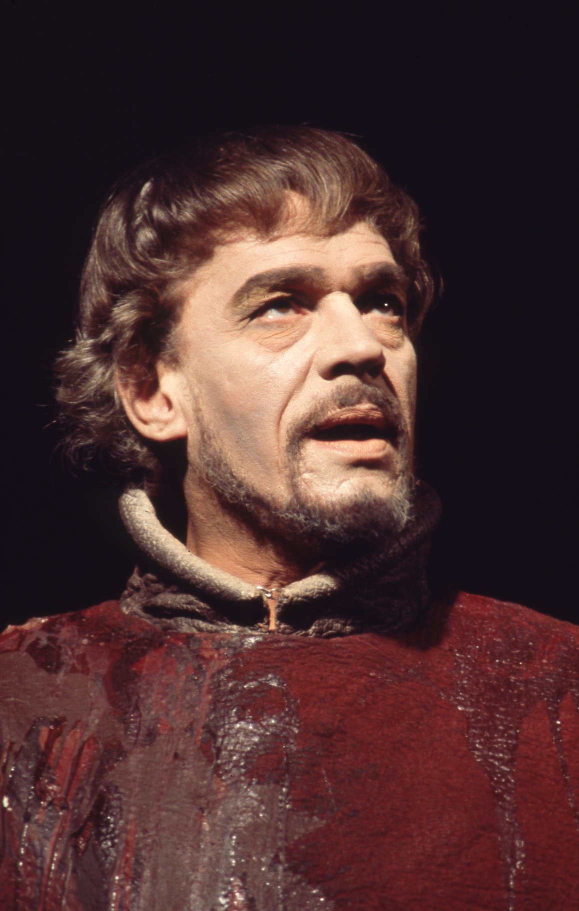 Paul Scofield as Macbeth.