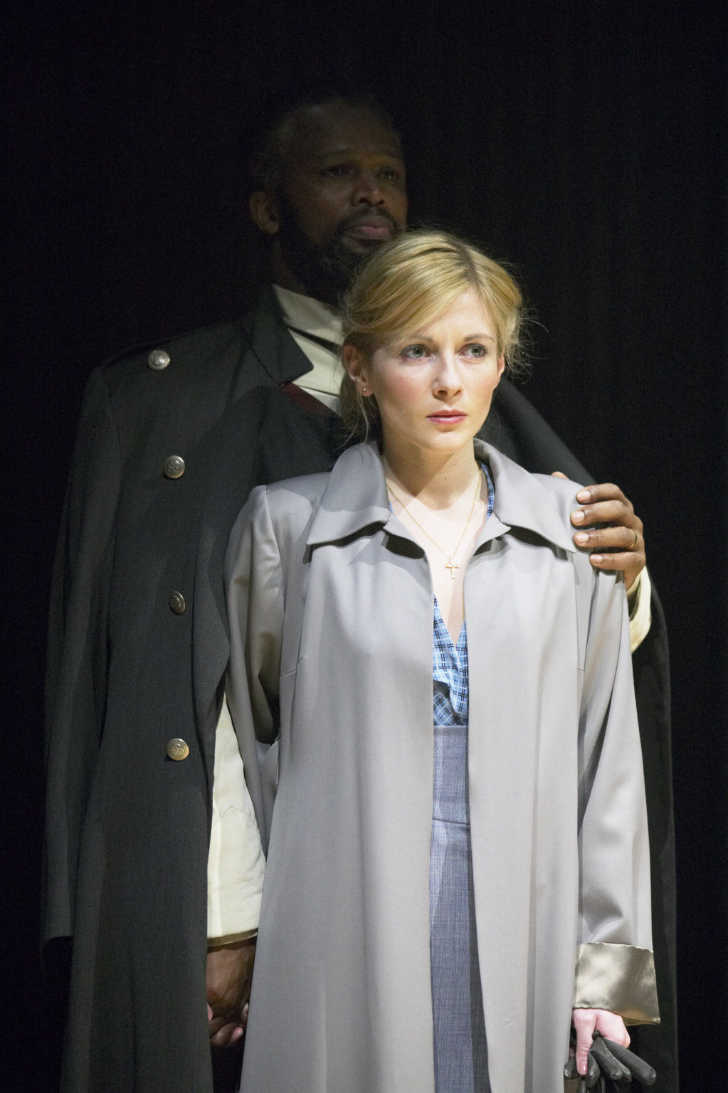 Othello and Desdemona.
