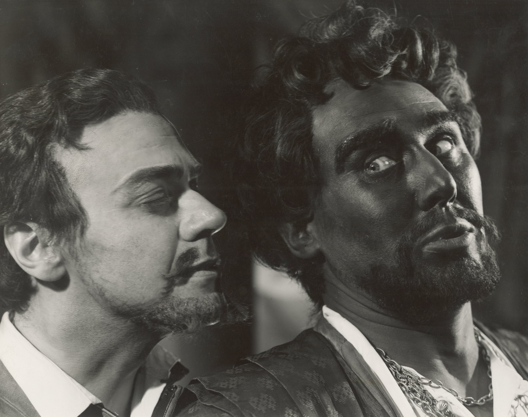 Iago and Othello.