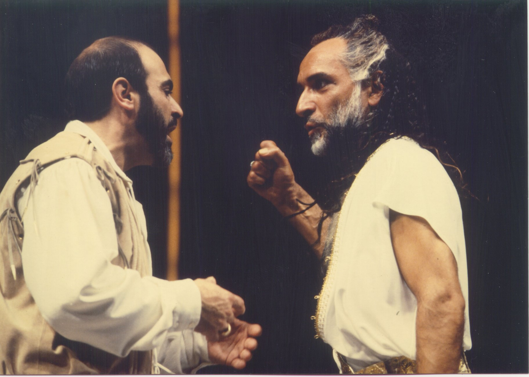 Iago convinces Othello.