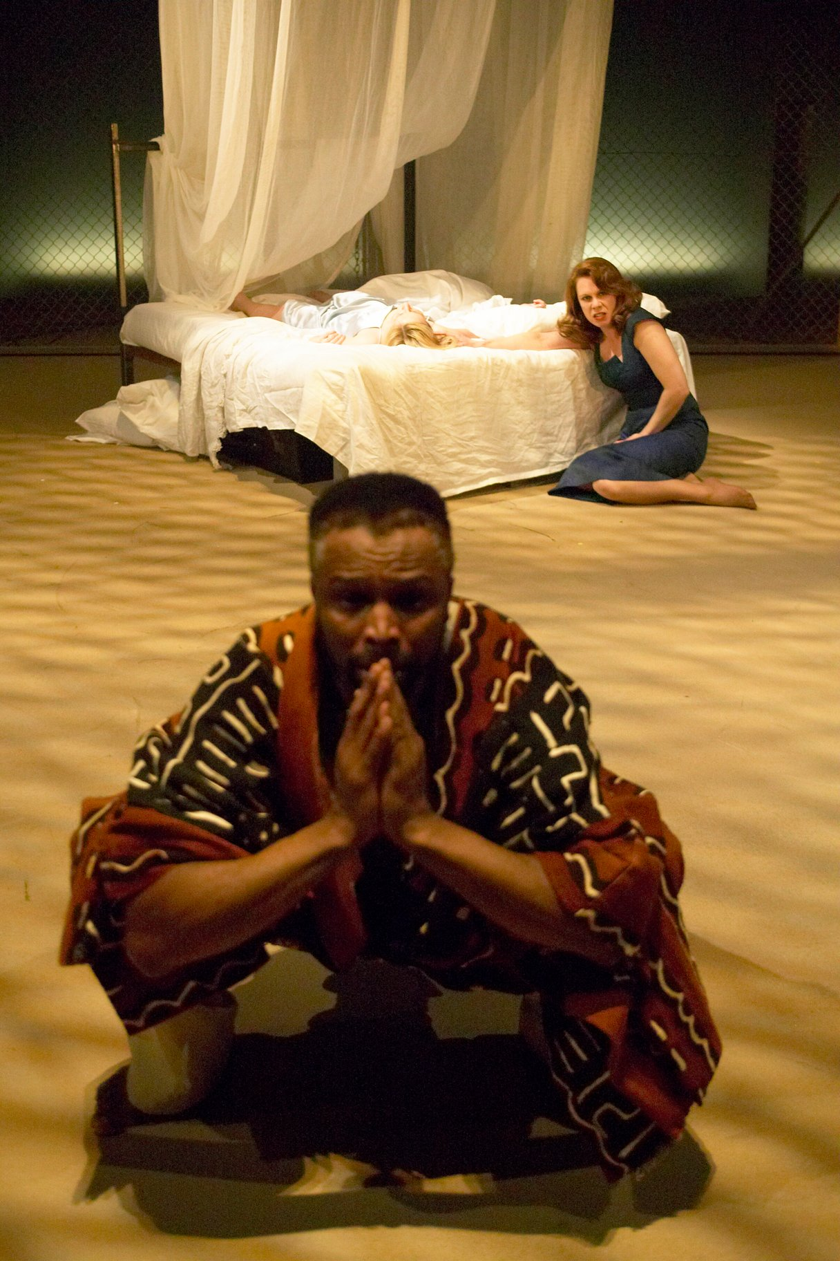 Othello and Emilia.