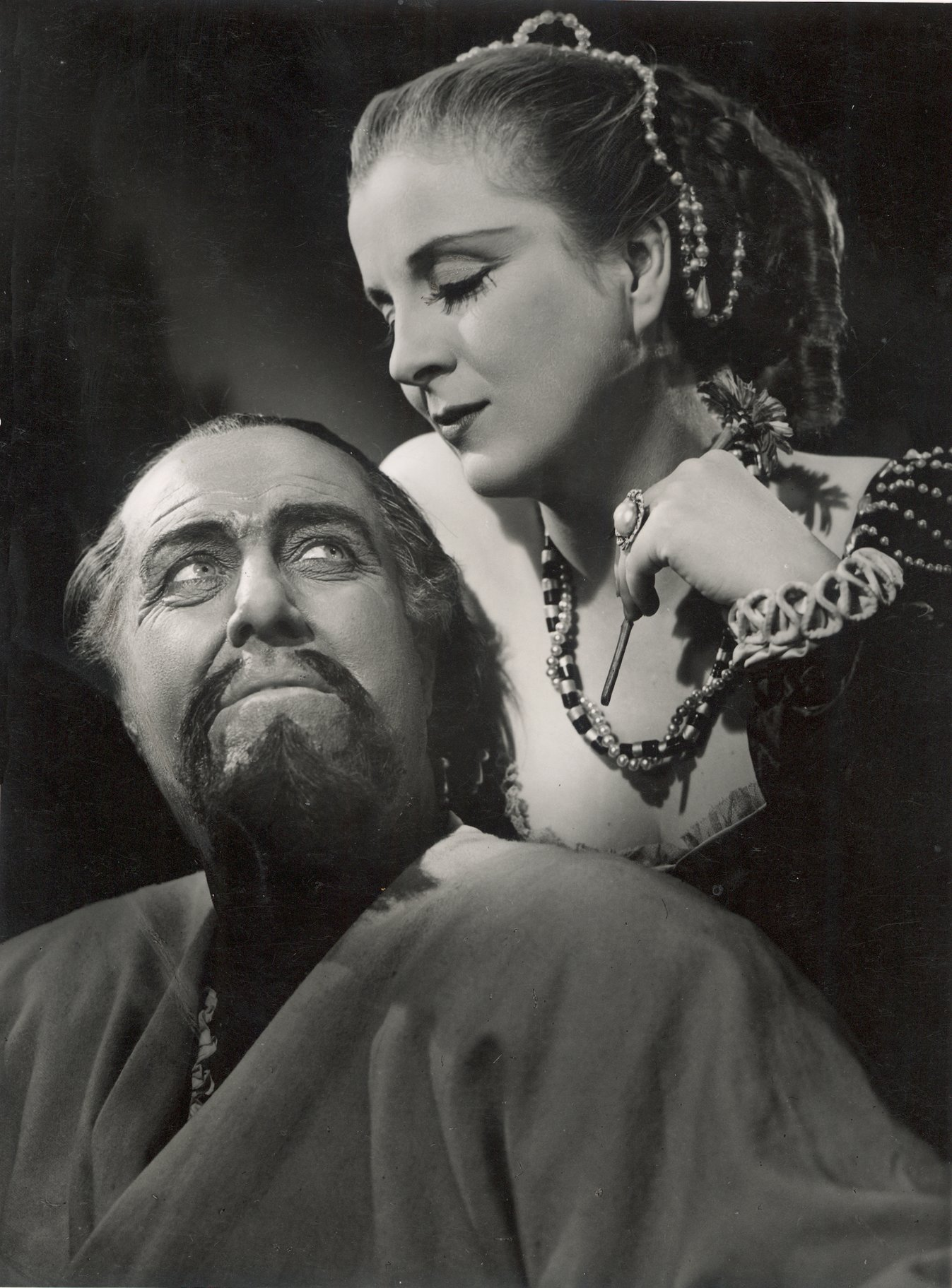 Othello and Desdemona in 1948.