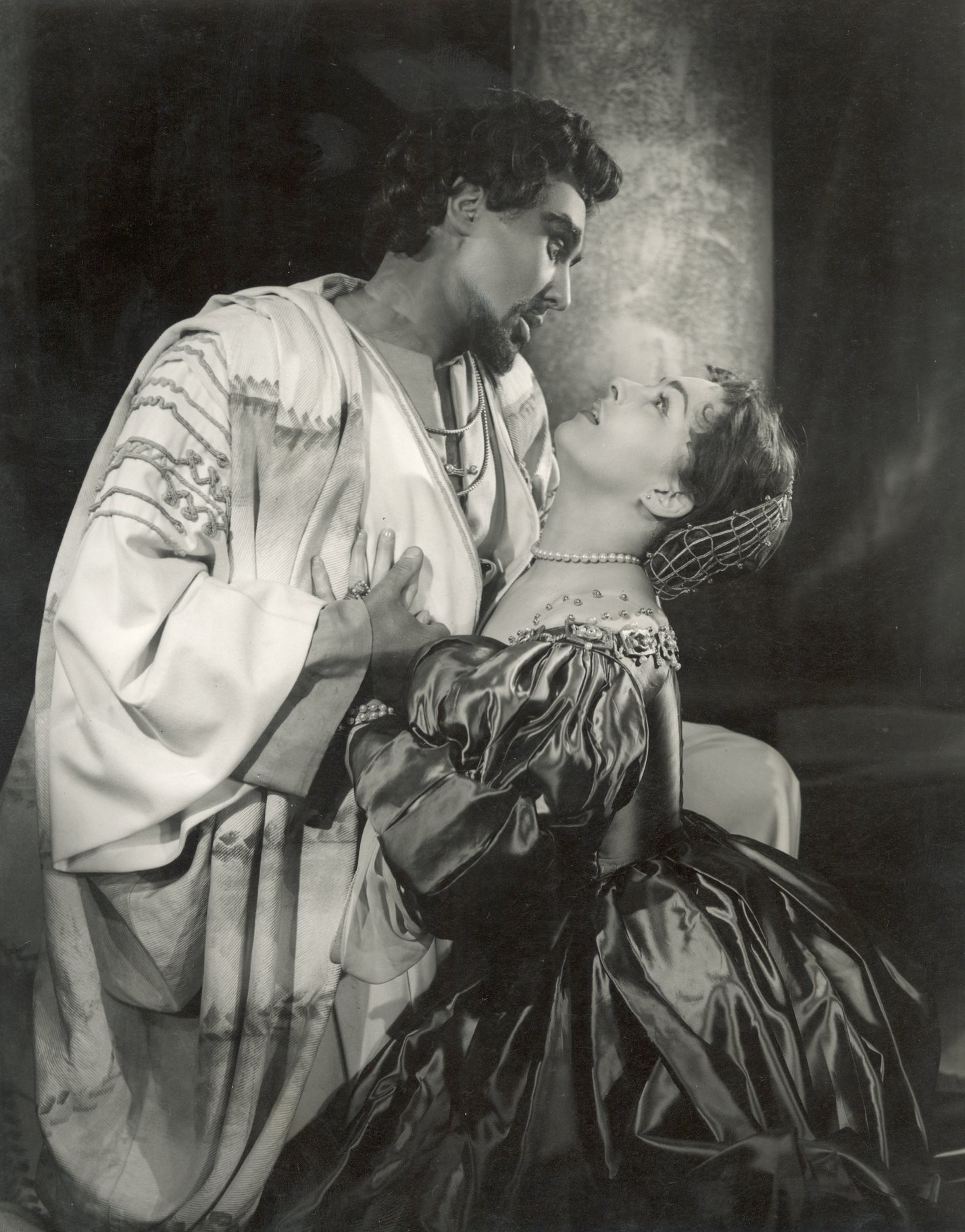 Othello and Desdemona in 1953.