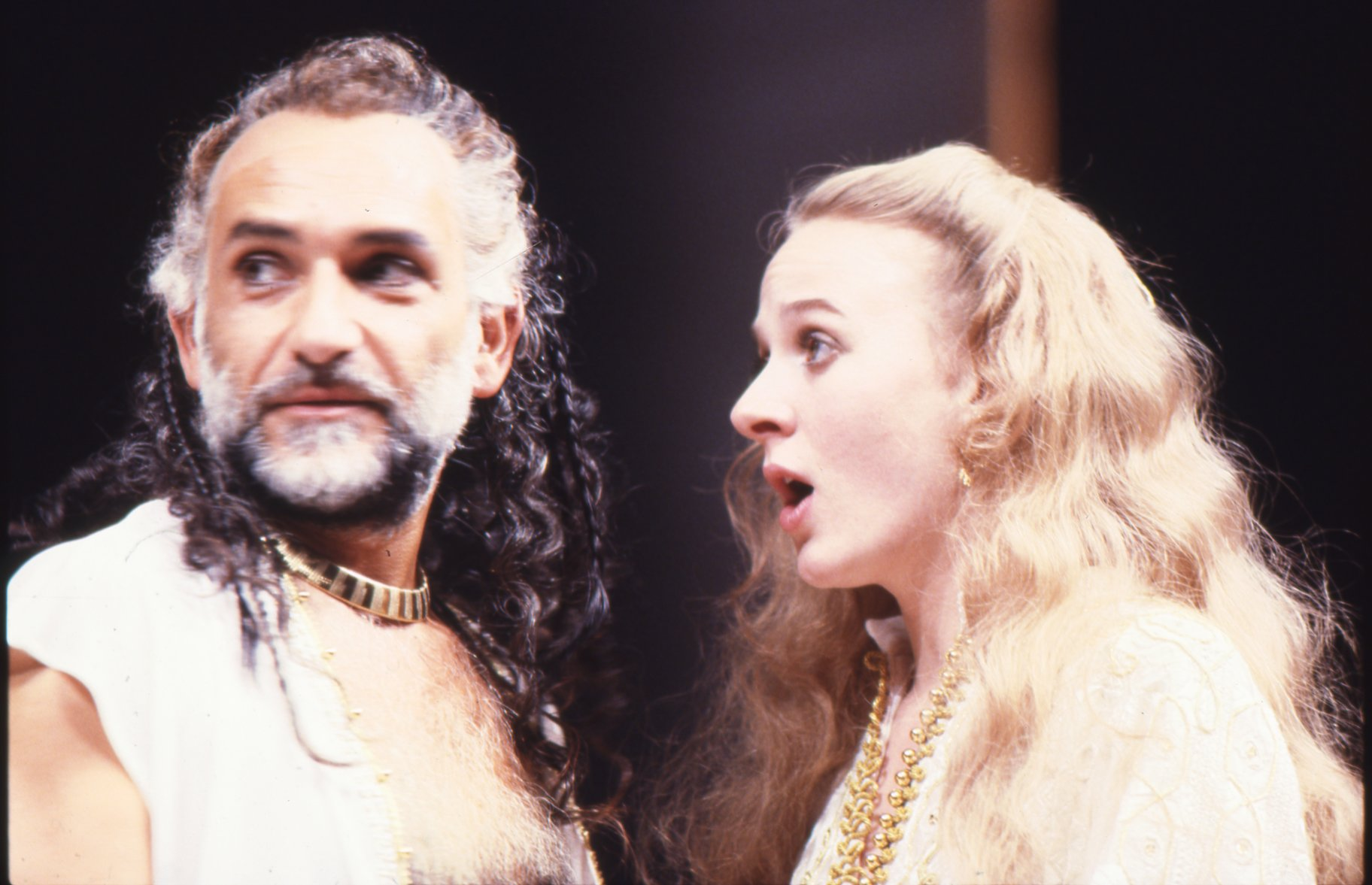 Othello and Desdemona in 1985.