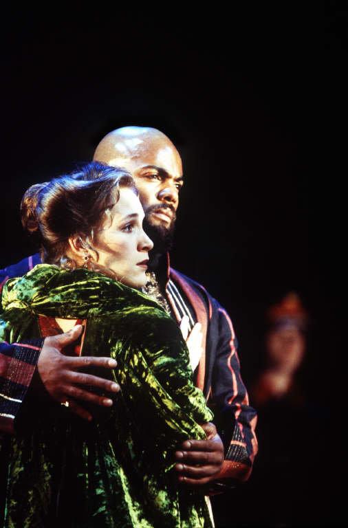 Othello and Desdemona.