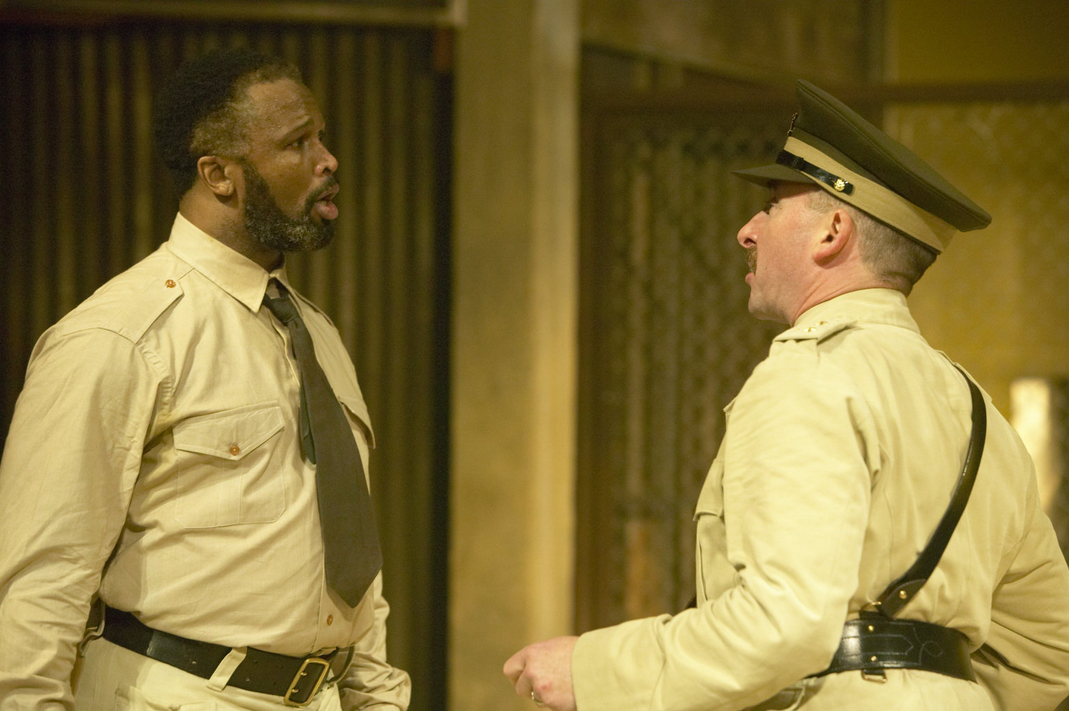 Othello and Iago.