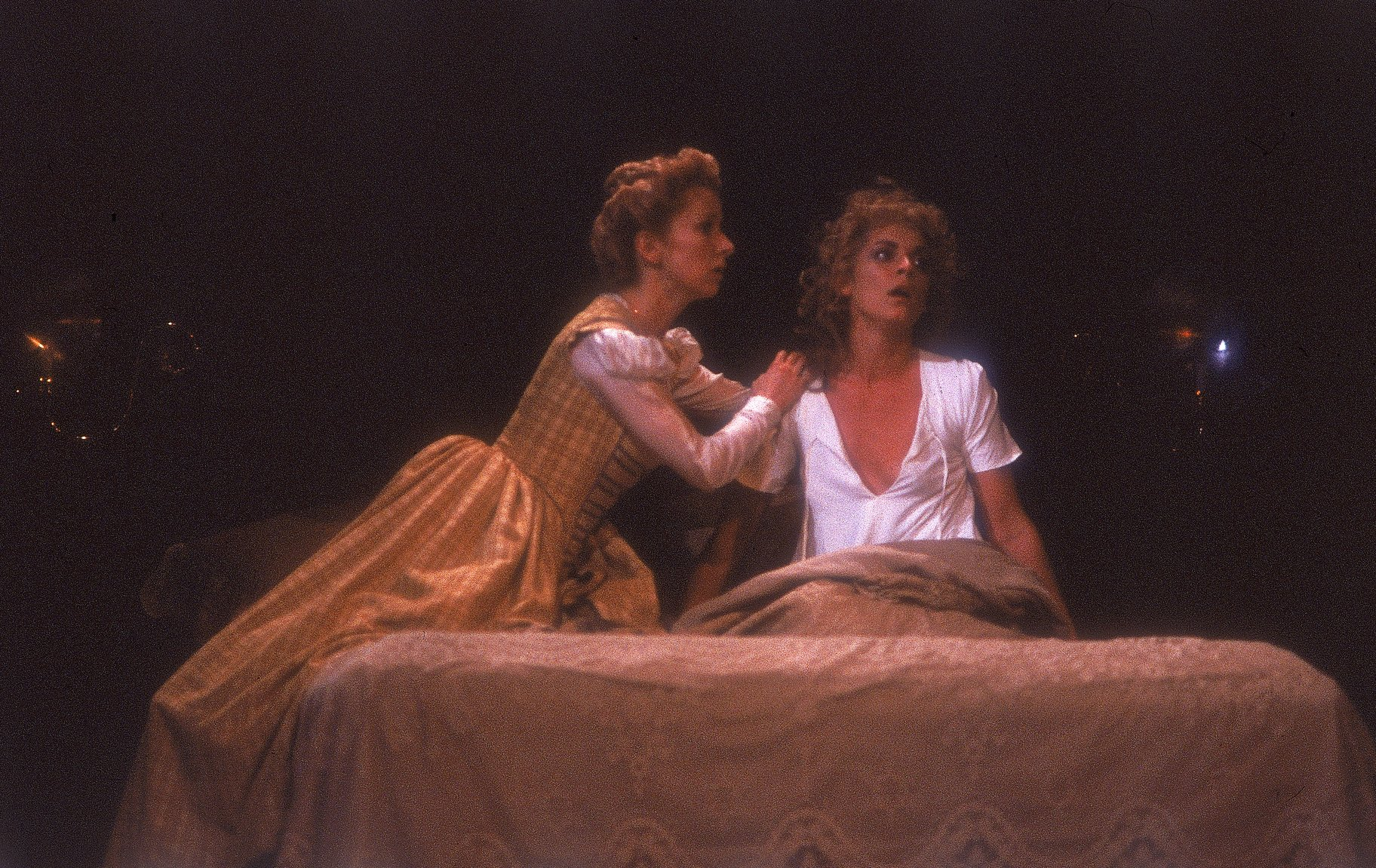 Emilia and Desdemona.
