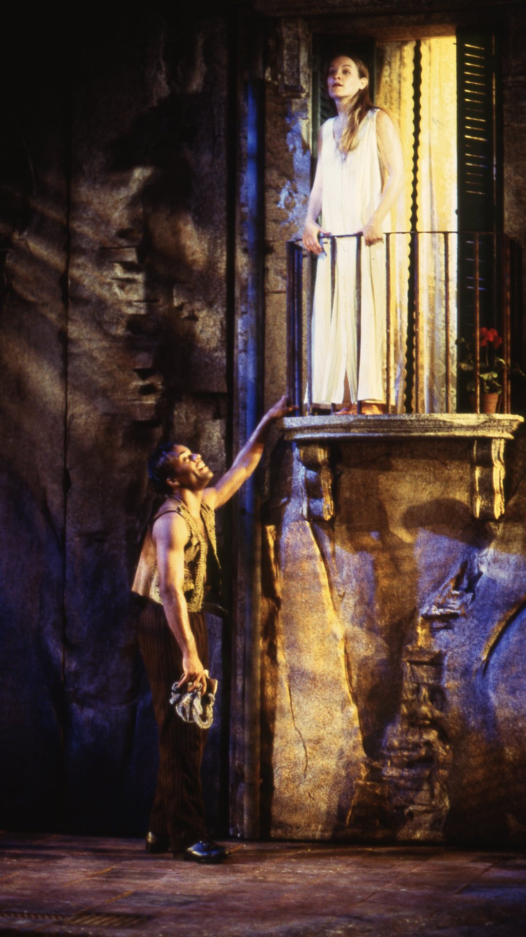 Romeo and Juliet in the Balcony Scene.