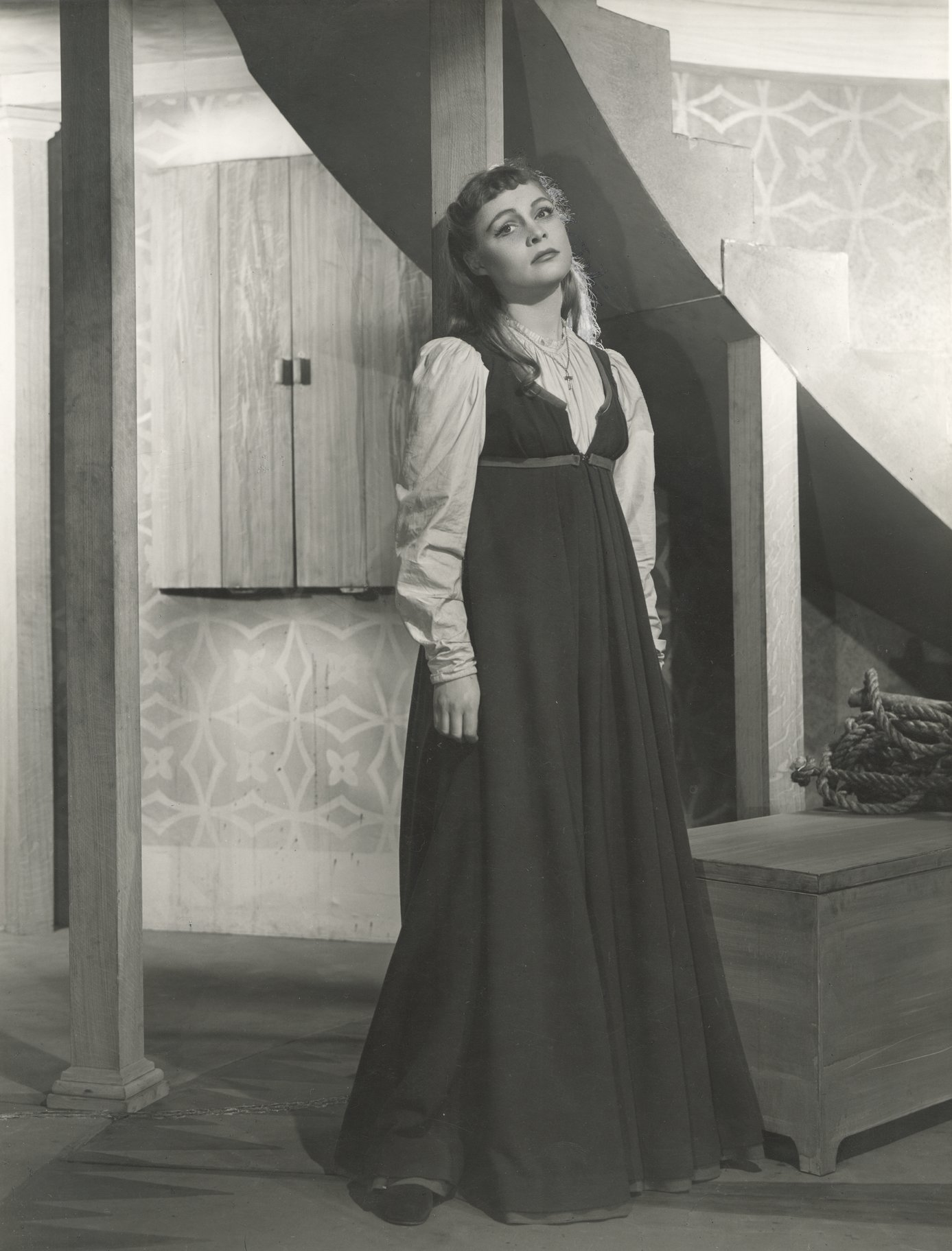 Zena Walker as Juliet.