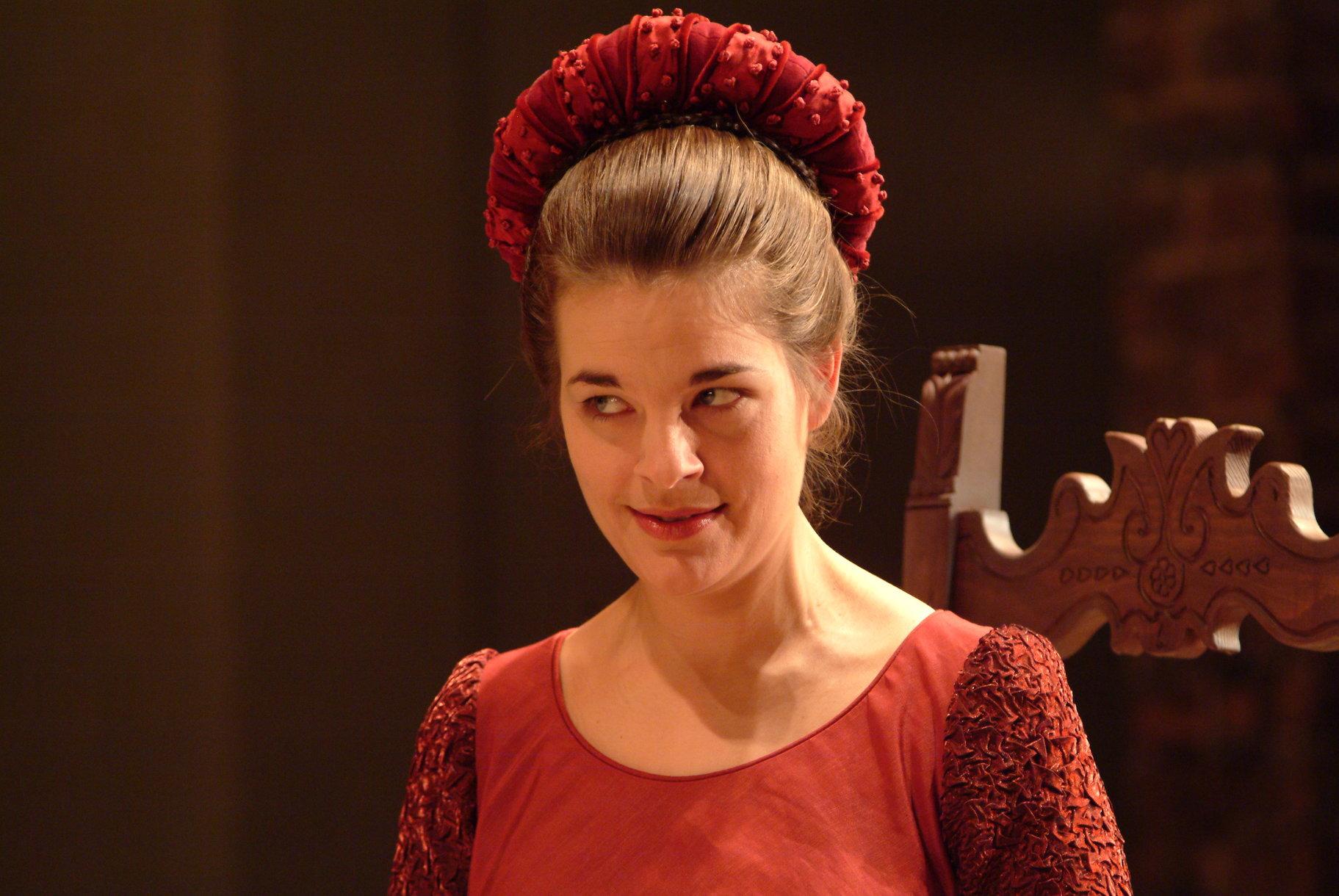 Lady Capulet.