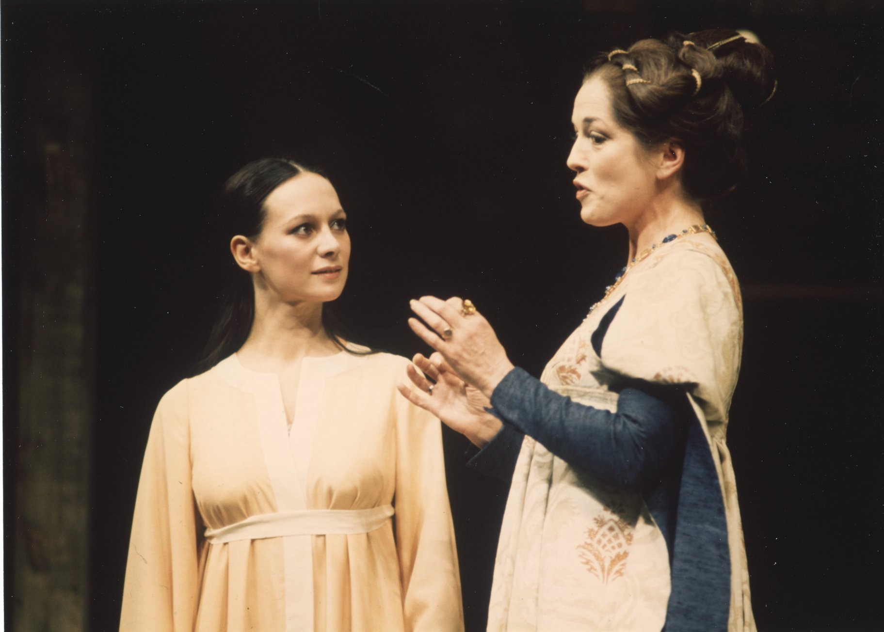Juliet and Lady Capulet.