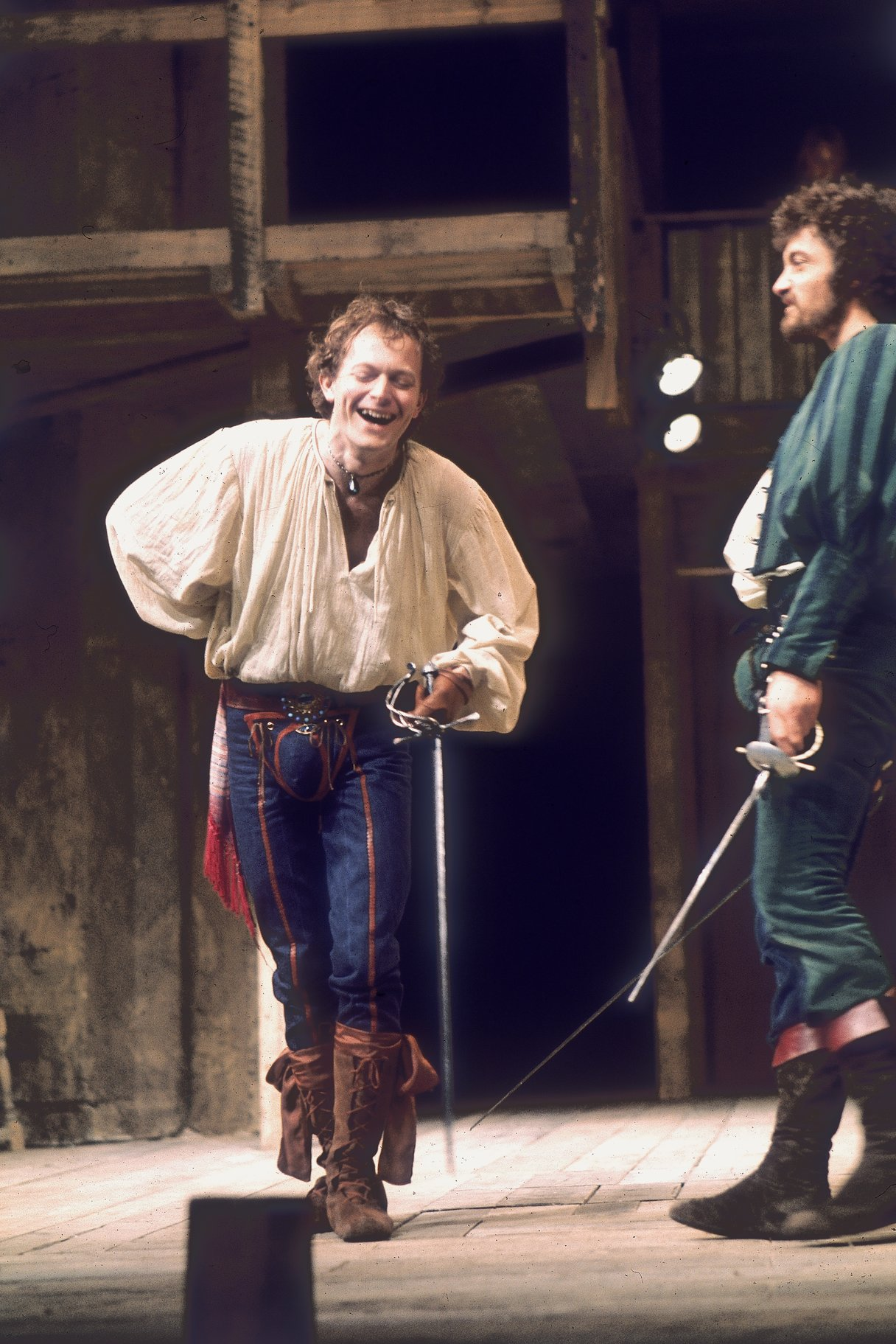 Michael Pennington as Mercutio.