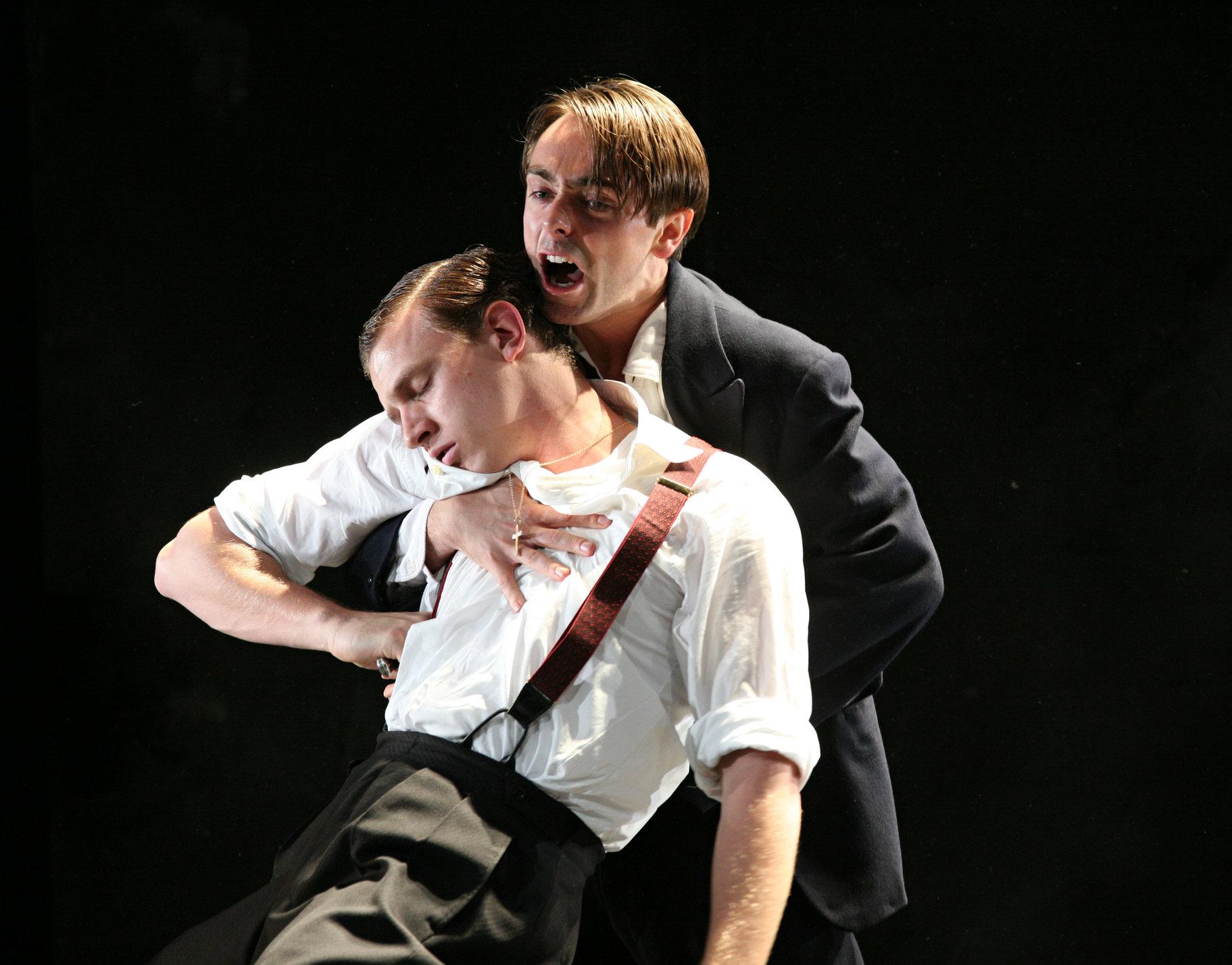 Romeo kills Tybalt.