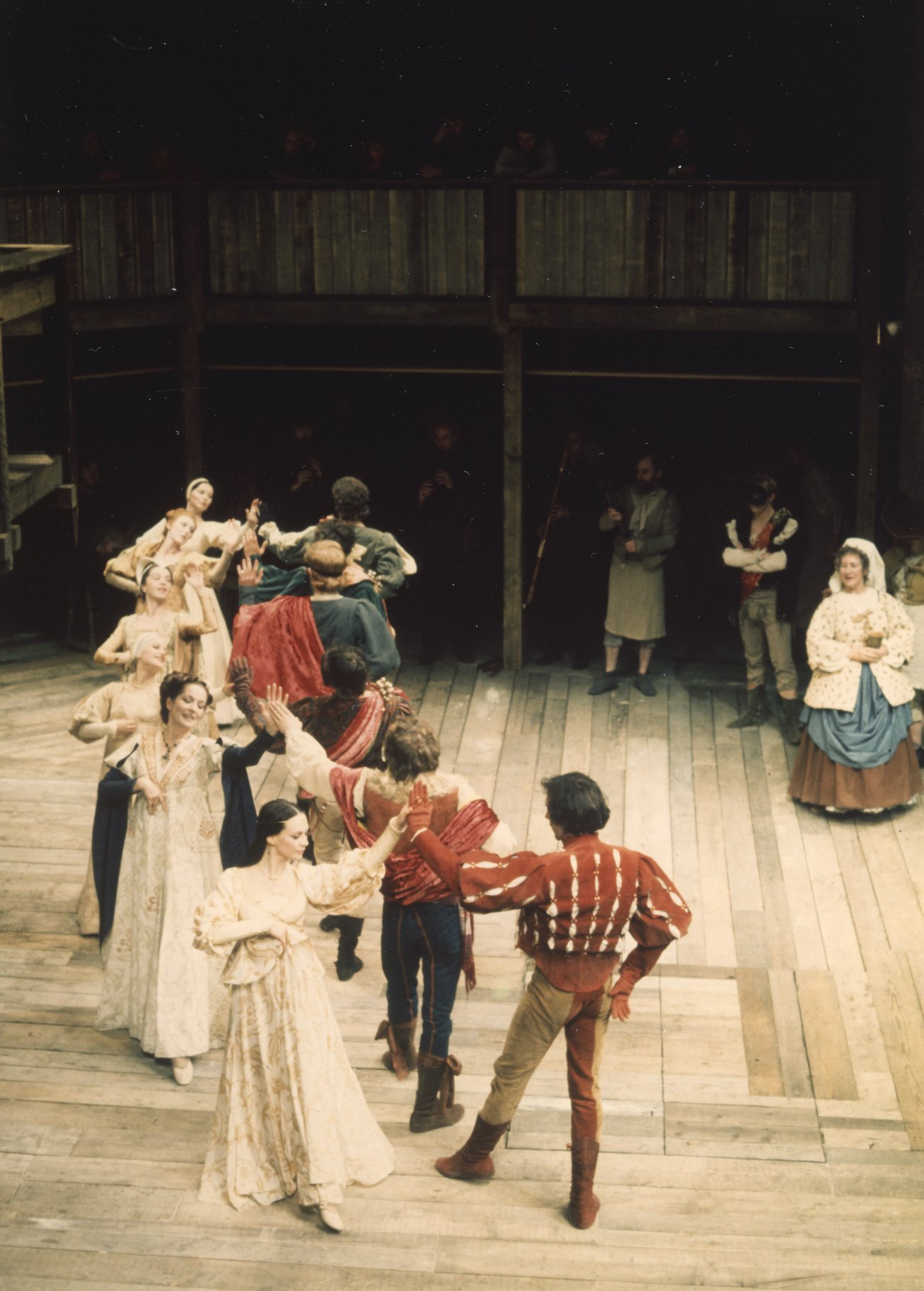 The set of the 2006 production of Romeo and Juliet at the Capulet ball.