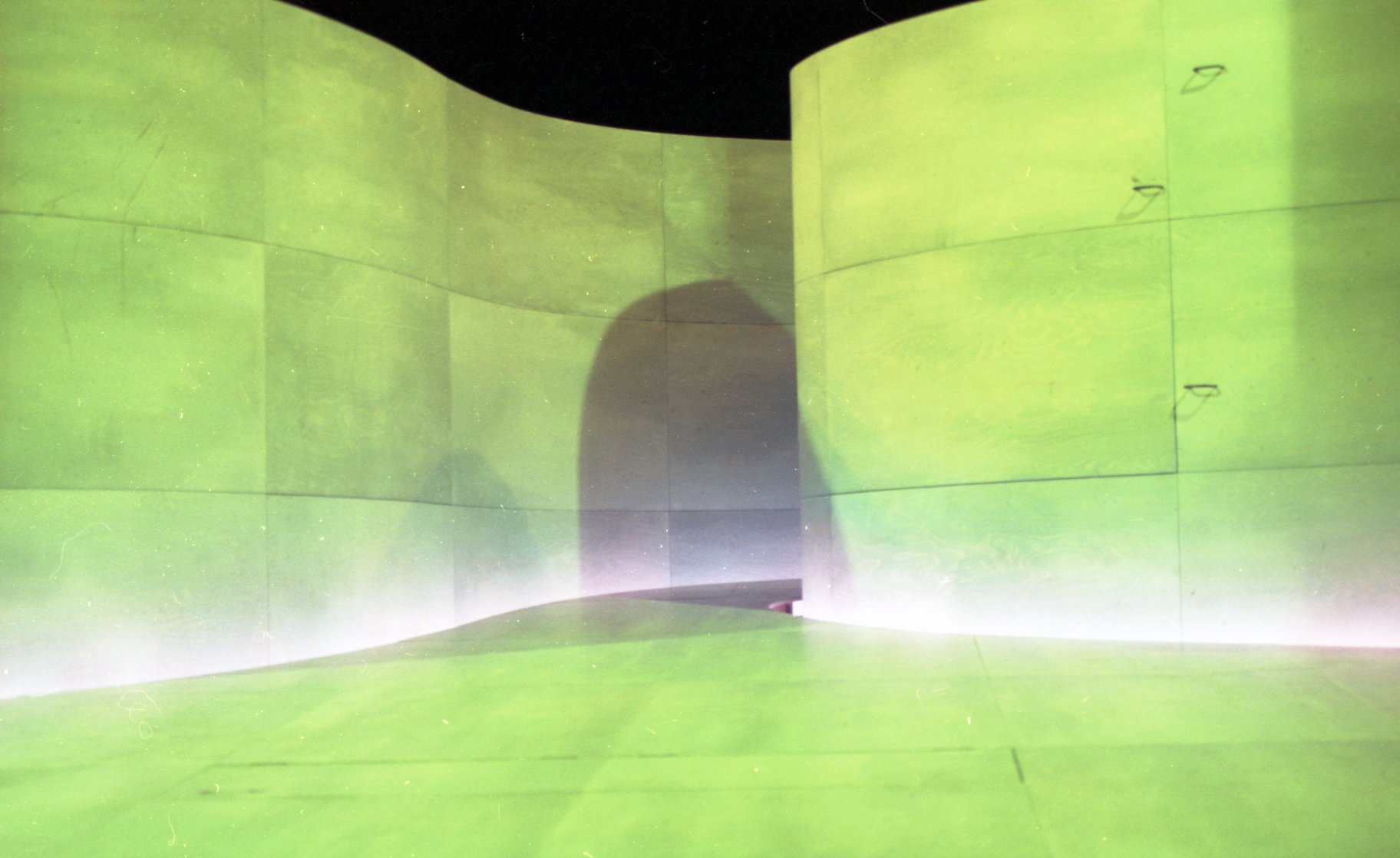 The set design for the show in 2000.