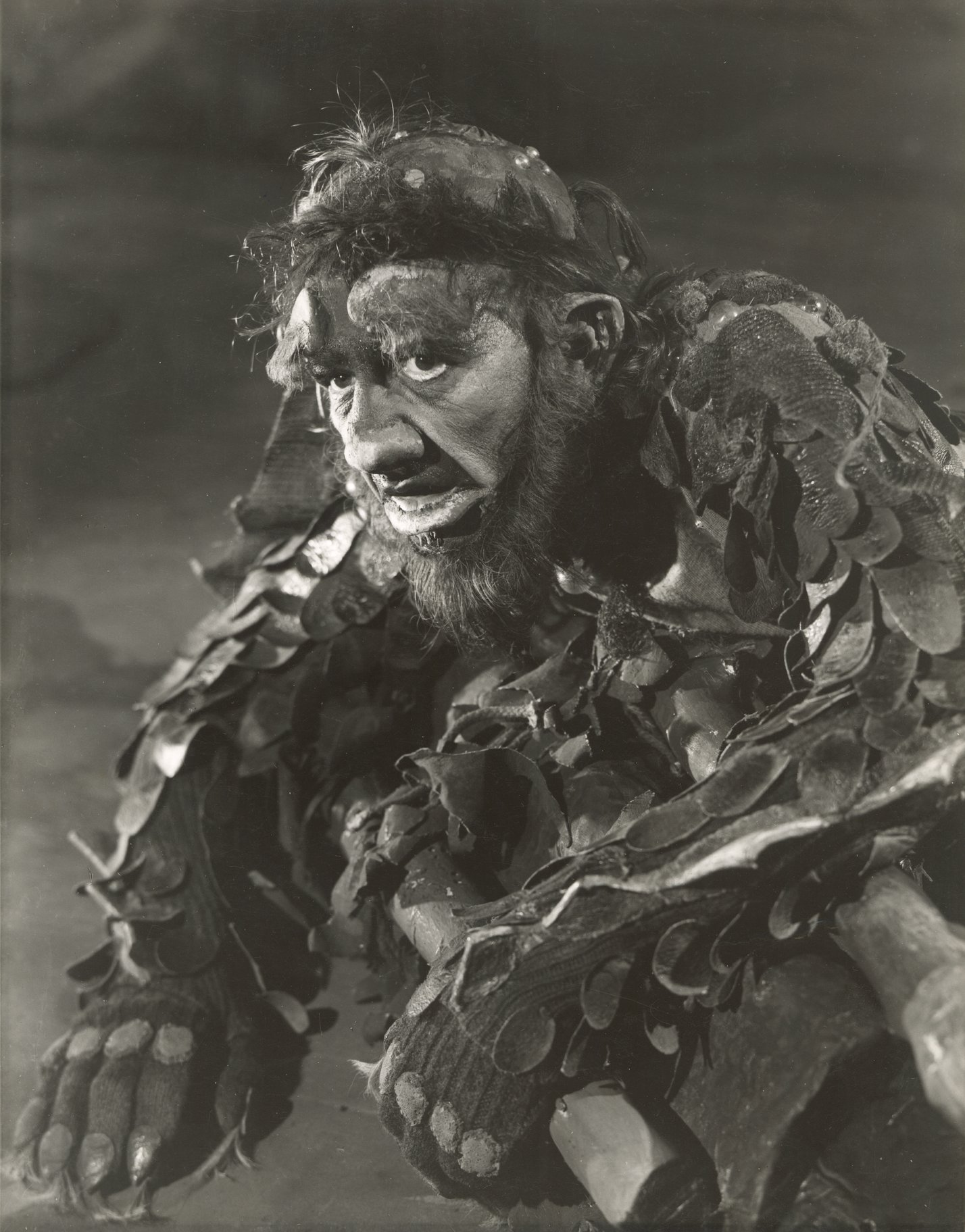 Michael Hordern as Caliban.