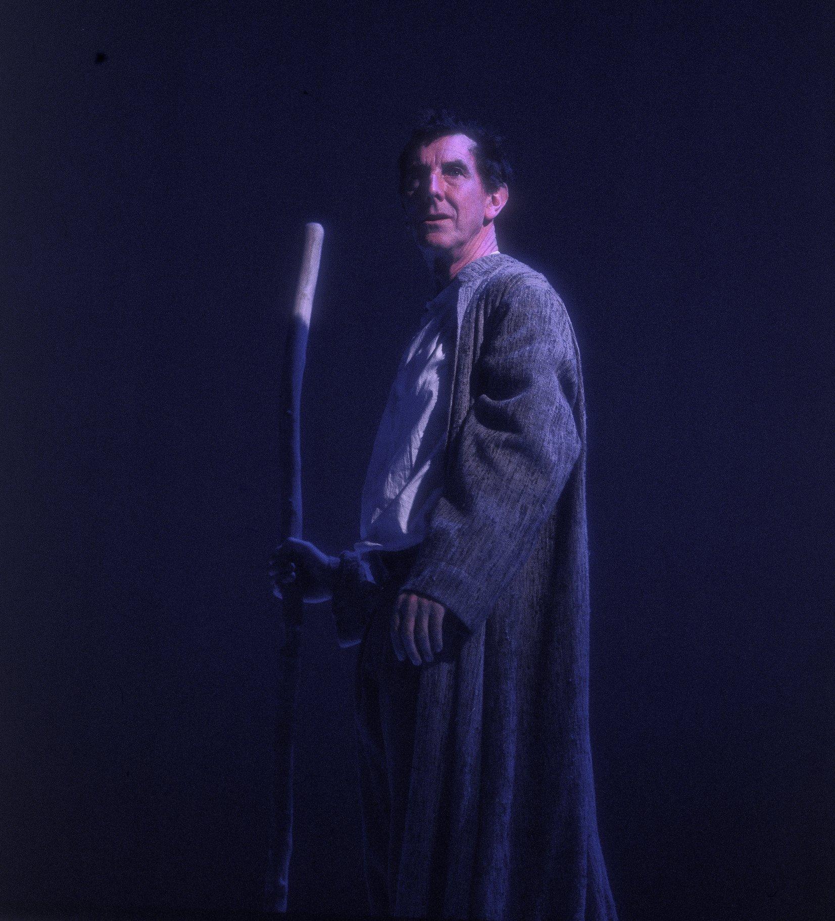 John Wood as Prospero.