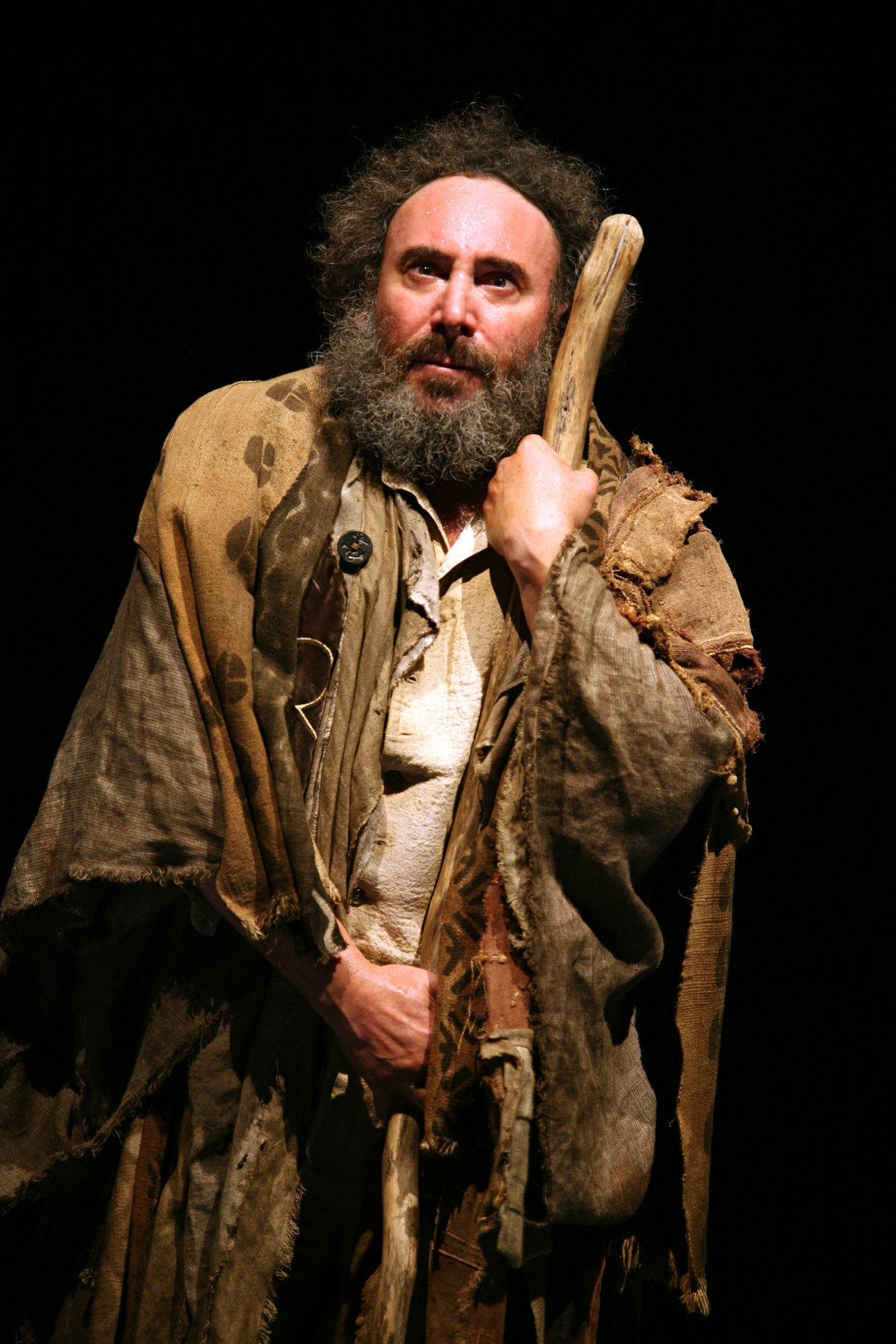 Antony Sher as Prospero.