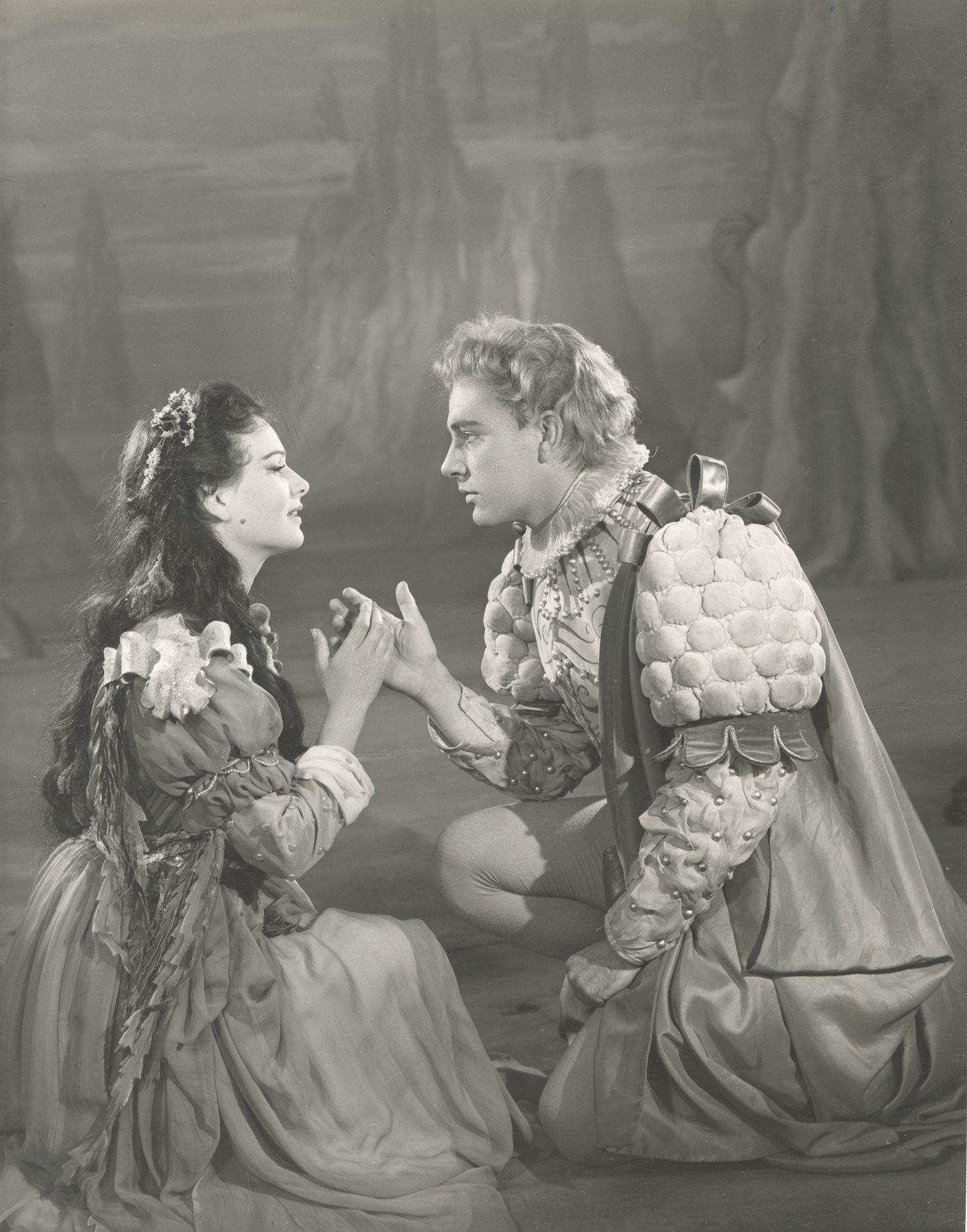 Miranda and Ferdinand.