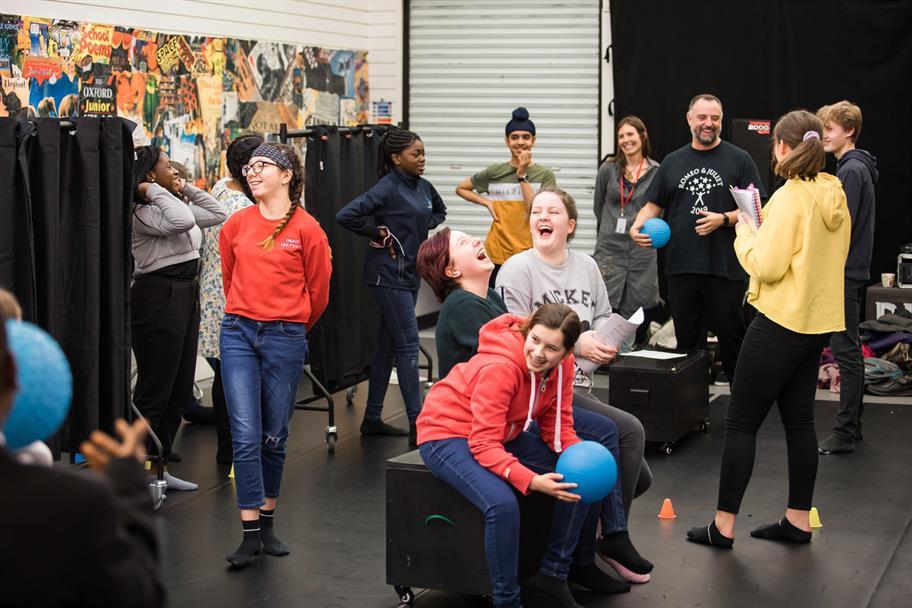 Silhouette Theatre Shakespeare Ambassadors Training March 2019_2019_Photo by Sam Allard _c_ RSC_278917