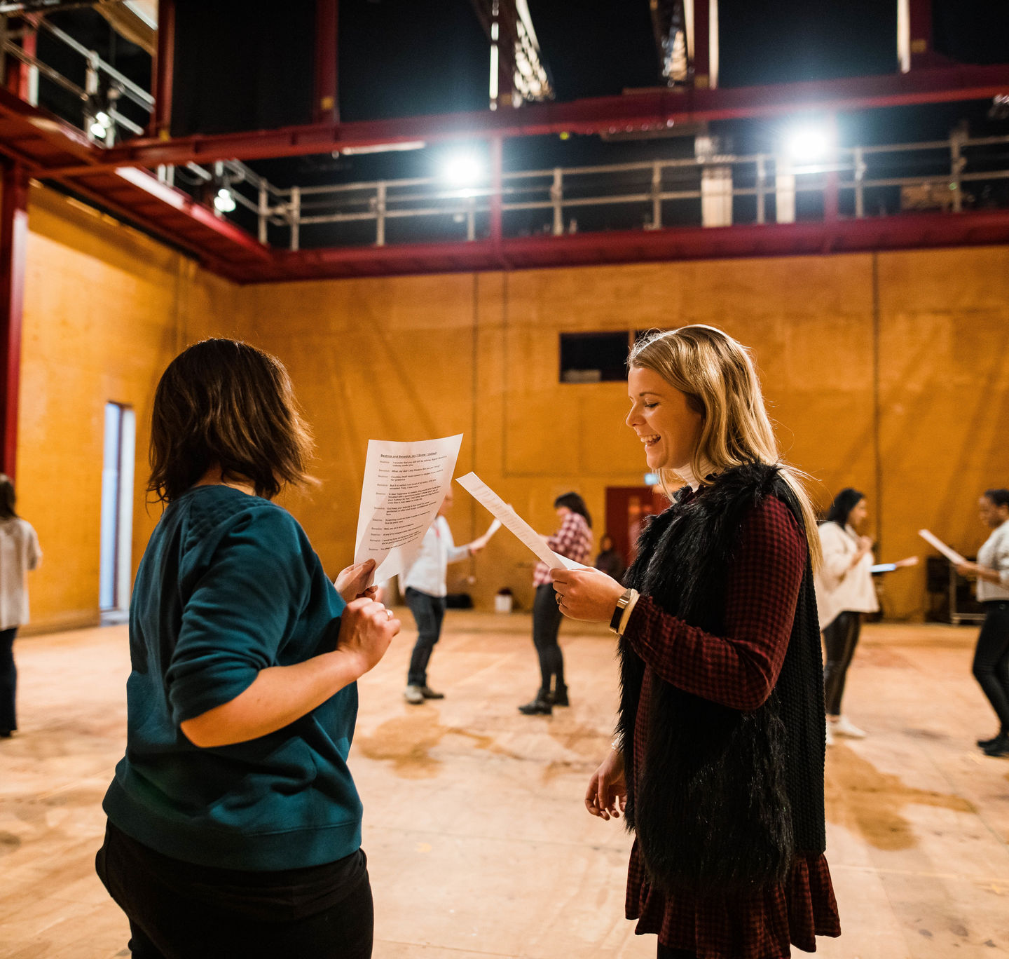 Lead Associate School_Regional Theatre Partner Training Feb 2019_2019_Photo by Sam Allard _c_ RSC_272825