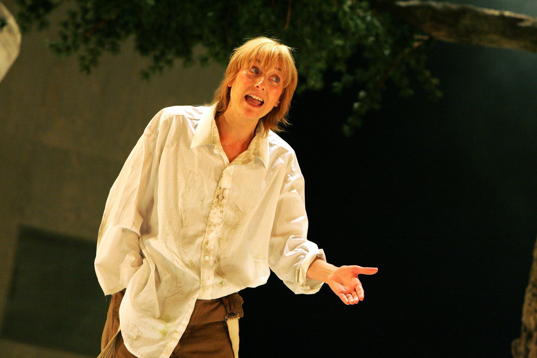 Rosalind as Ganymede.