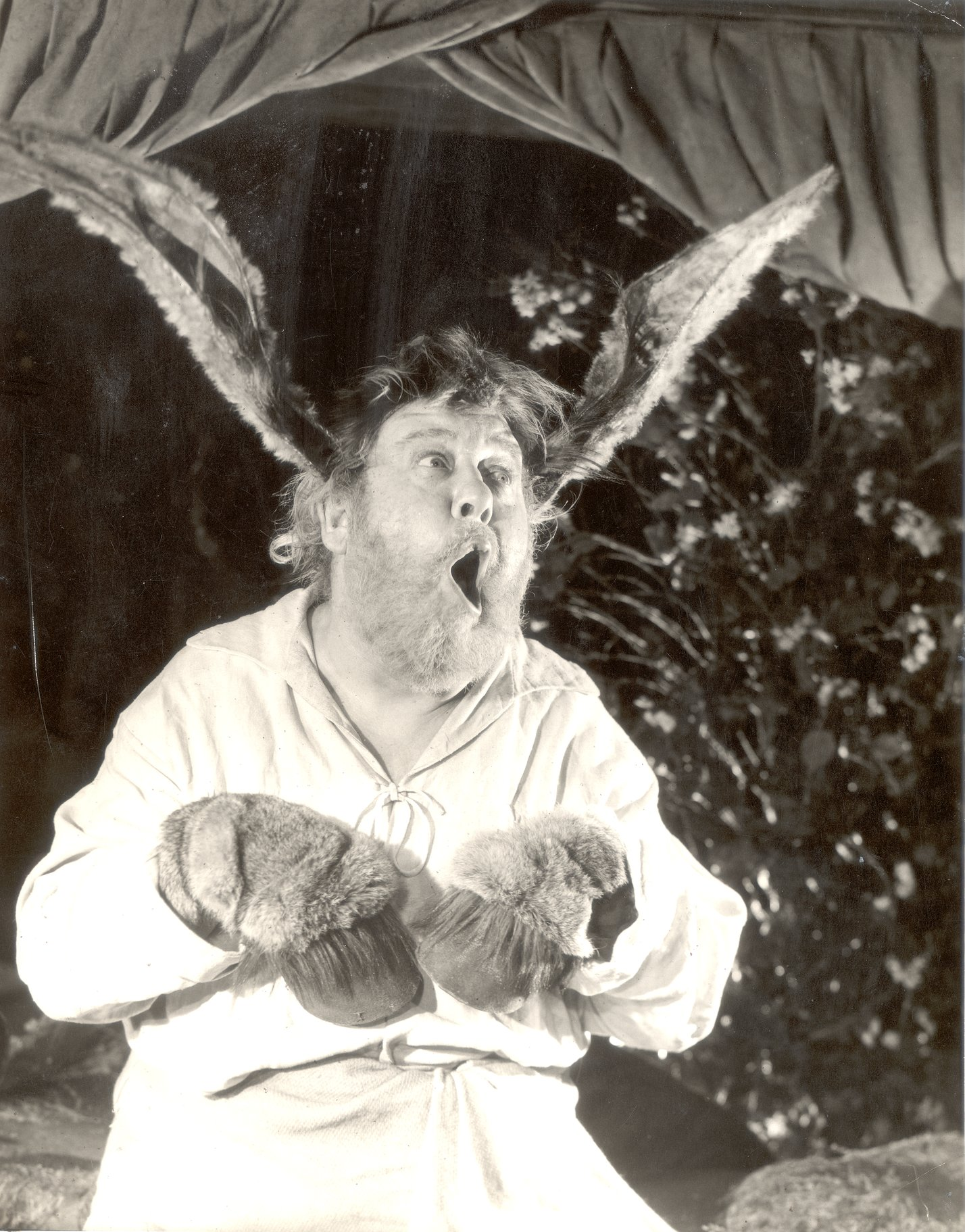 A Midsummer Night_s Dream_ 1959_  Charles Laughton as Bottom_1959_Photo by Angus McBean _c_ RSC_27313