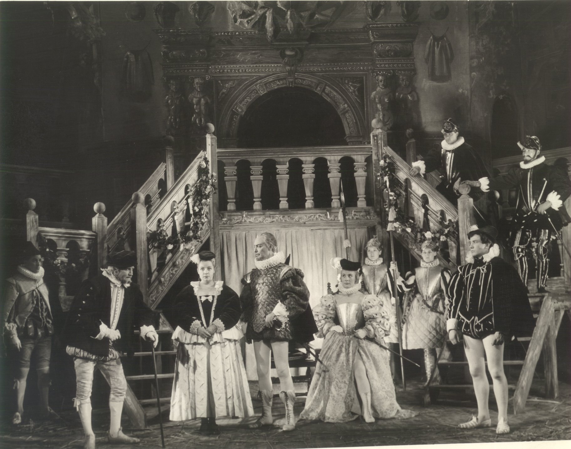A Midsummer Night_s Dream_ 1959_ a scene in the court_1959_Photo by Angus McBean _c_ RSC_73959