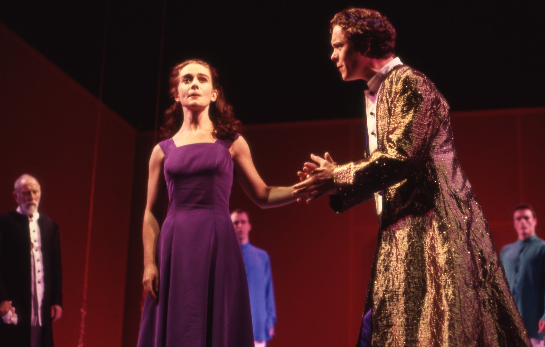 A Midsummer Night_s Dream_ 1994_ Hermia and Theseus_1994_Photo by Malcolm Davies _c_ Shakespeare Birthplace Trust_265202