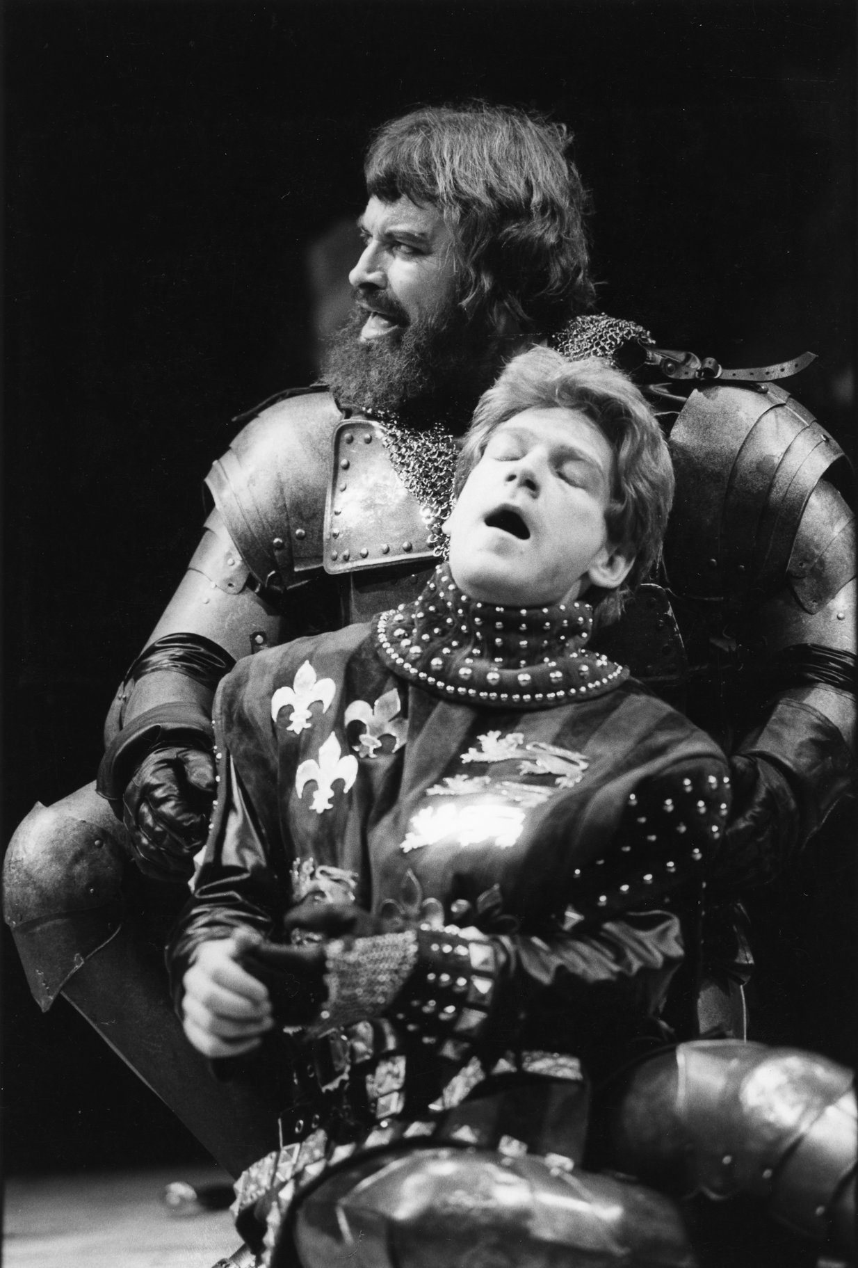 Henry V_ 1984_ the Duke of Exeter and Henry V_1984_Photo by Stephen Macmillan _c_ Stephen Macmillan_192795