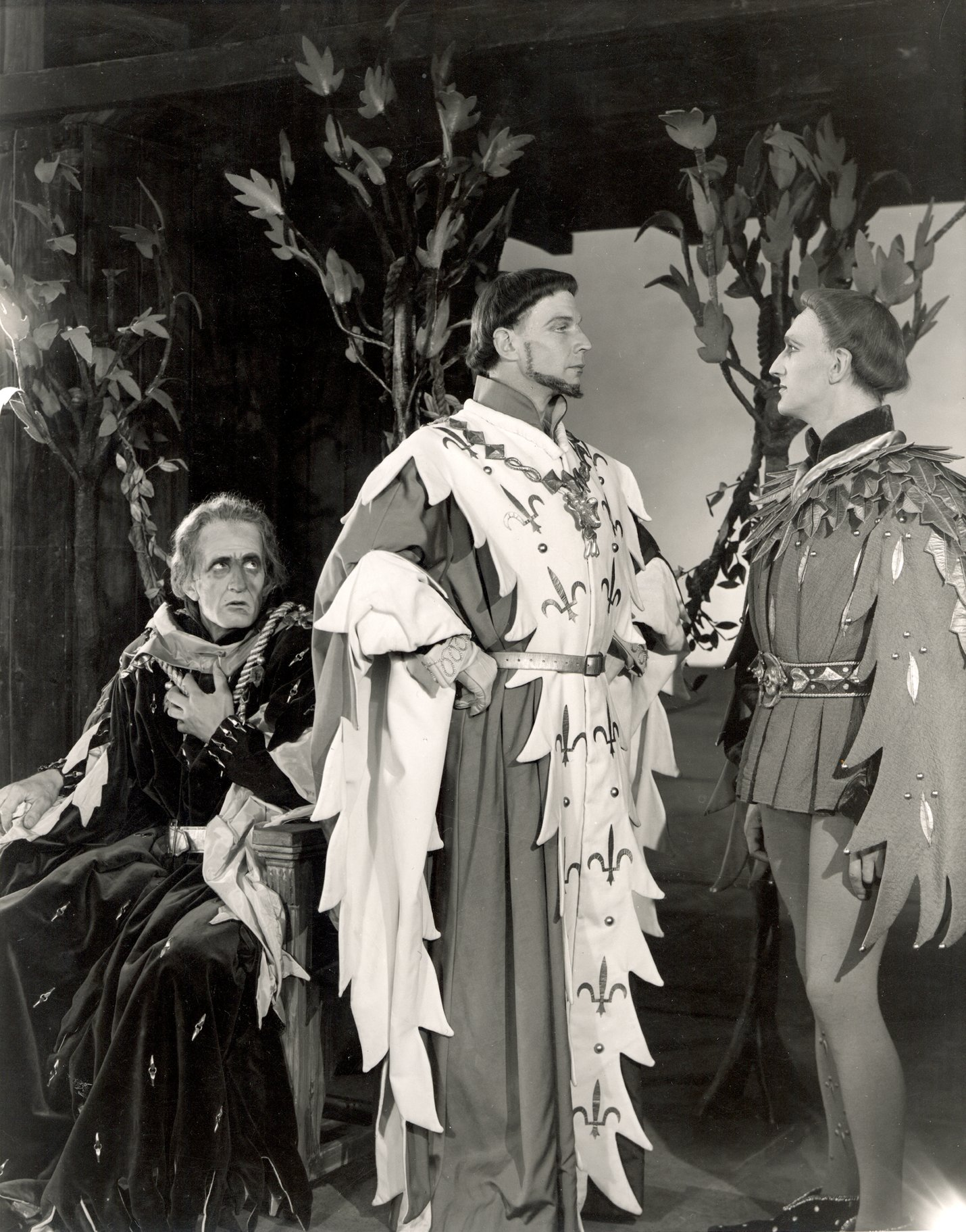 Henry V_ 1951_ The Constable of France_ the French King and the Dauphin_1951_Photo by Angus McBean _c_ RSC_120539