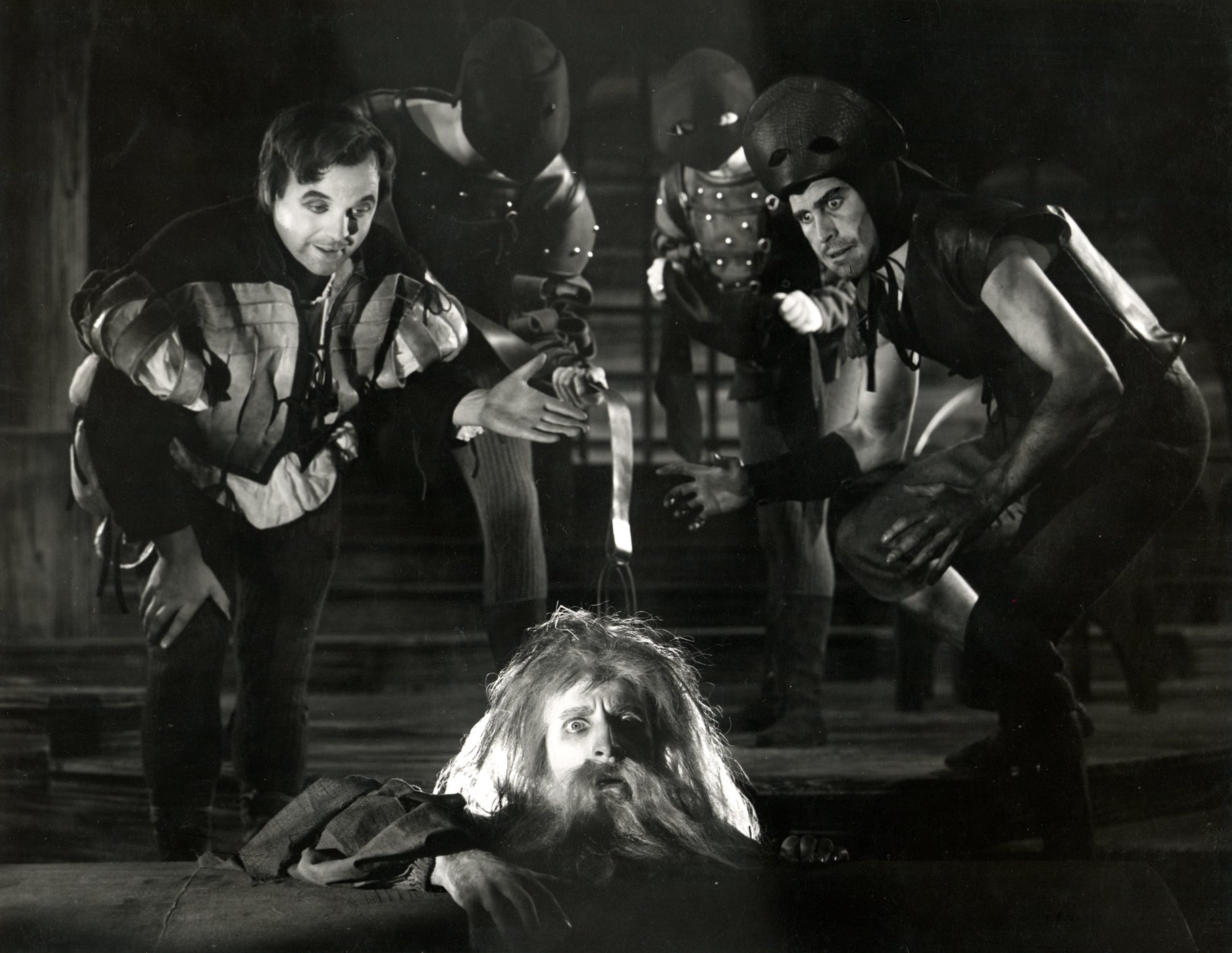 Measure for Measure_ 1956_ Pompey_ Barnadine and Abhorson_1956_Photo by Angus McBean _c_ RSC_134629