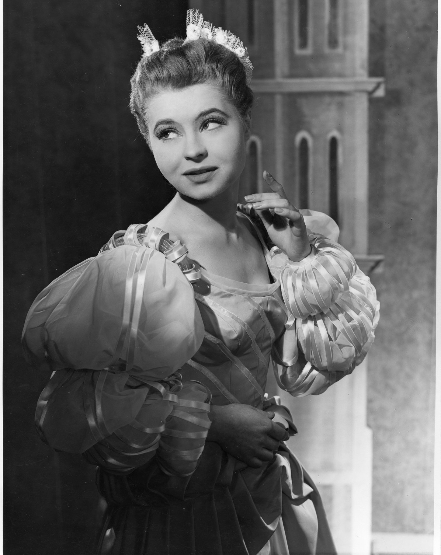 The Merchant of Venice_ 1956_ Prunella Scales as Nerissa_1956_Photo by Angus McBean _c_ RSC_170703